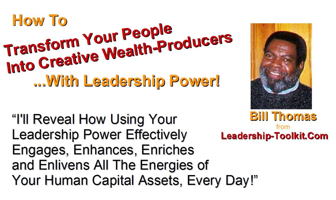 leadership power paradigms, legendary leadership webinars